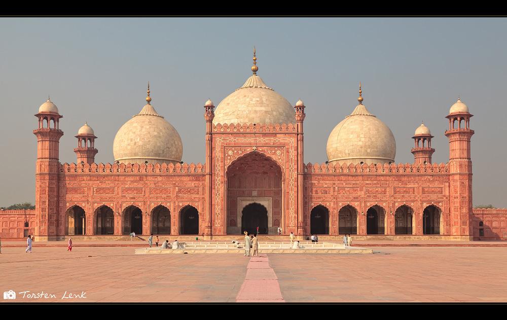 Die Badshahi Moschee in Lahore