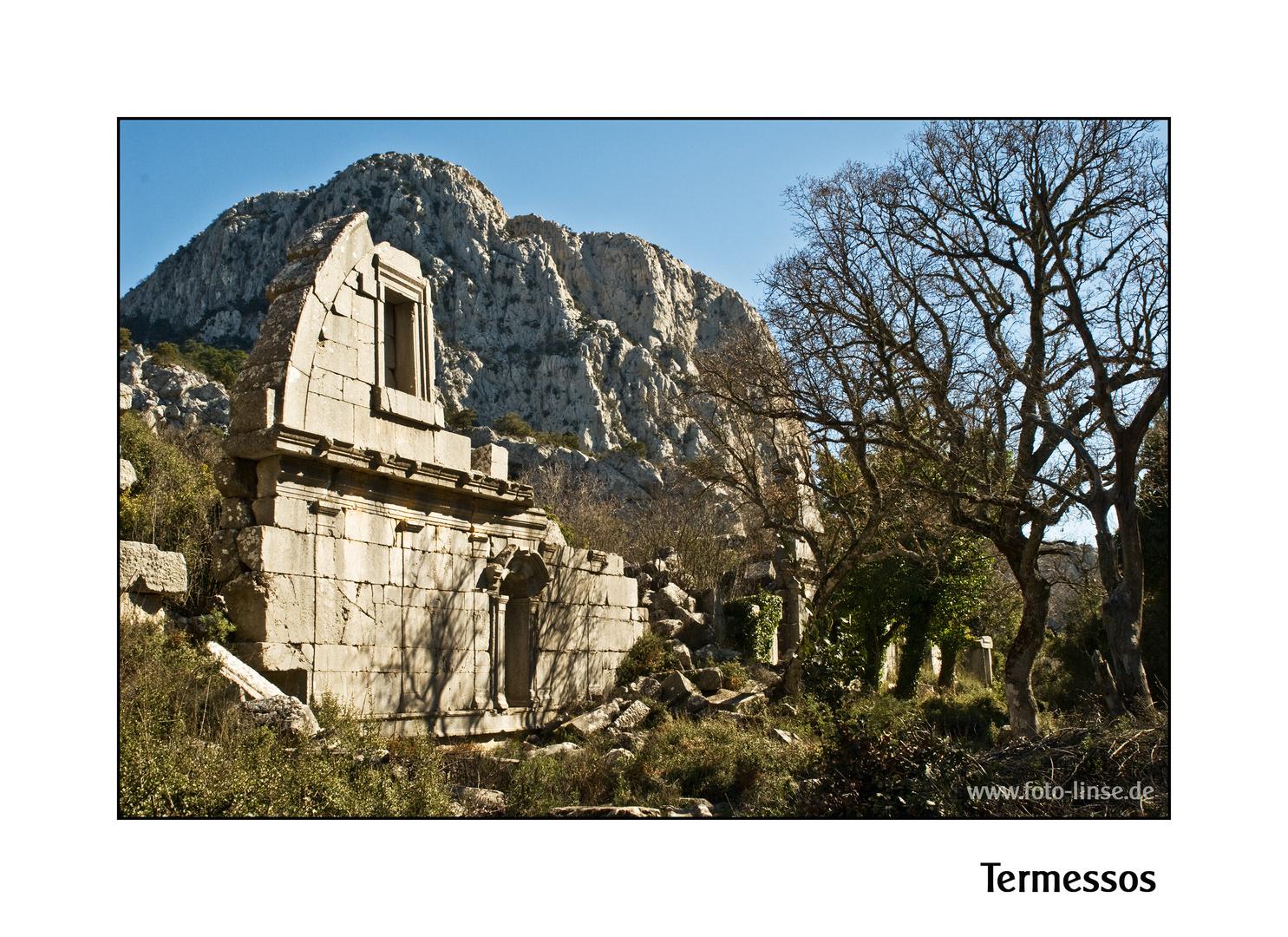 Die Bäder von Termessos