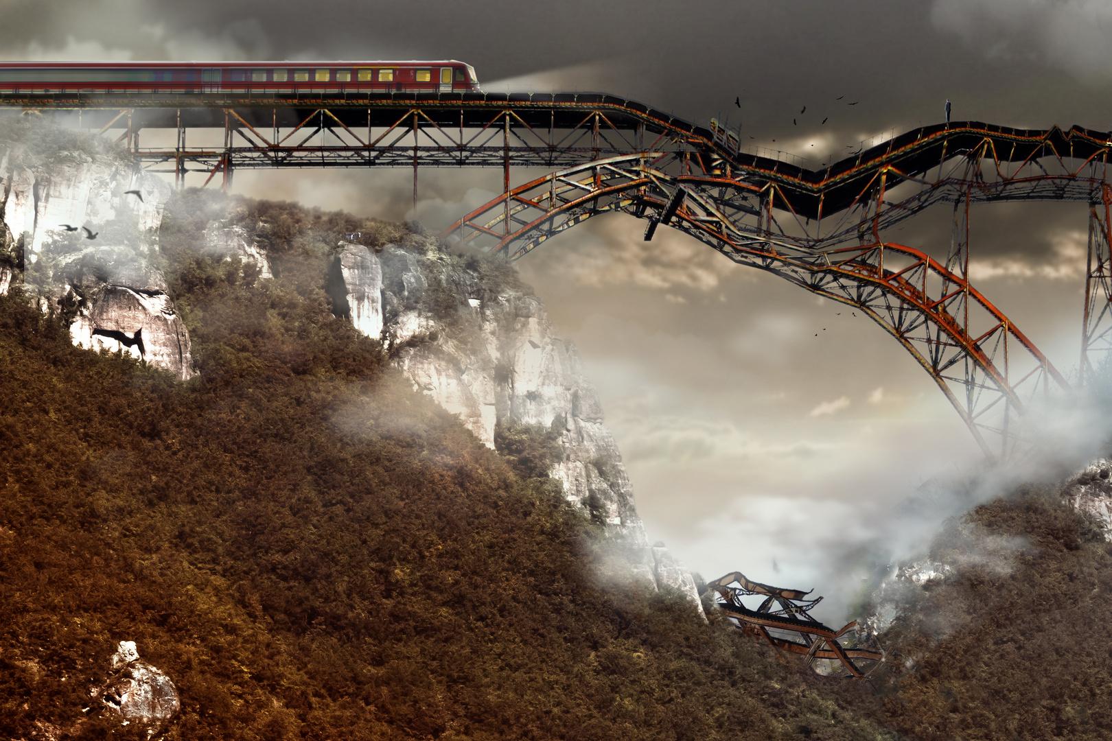 Die Bahn fährt