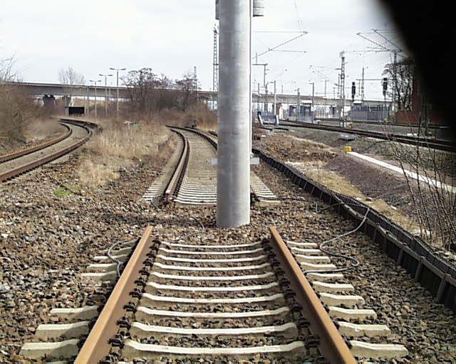 Die Bahn kommt.