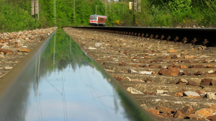 Die Bahn kommt ... DIE BAHN ...