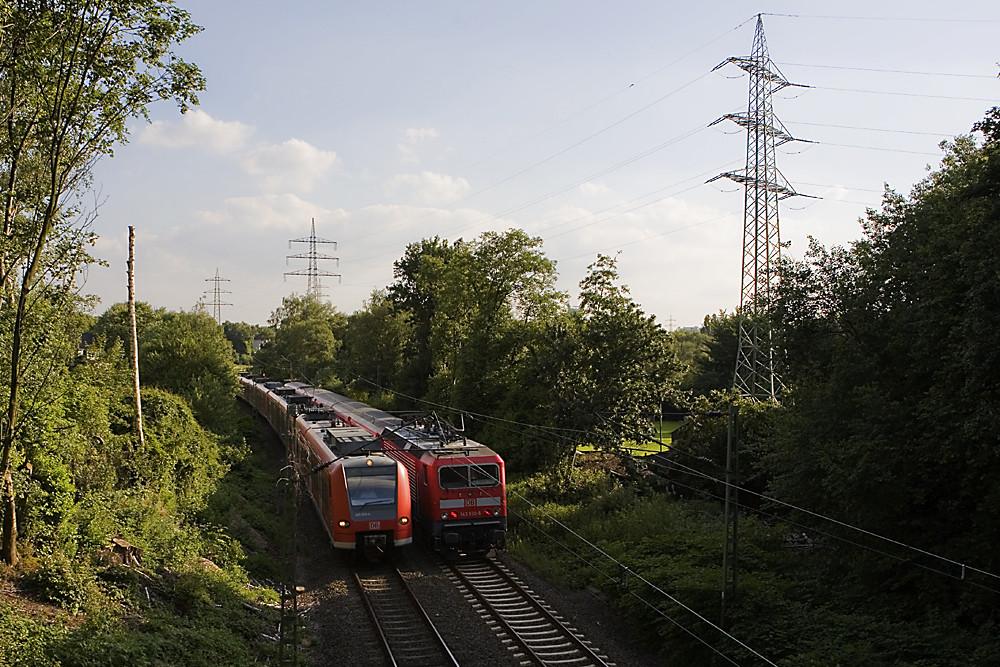 Die Bahn - Lok an Lok
