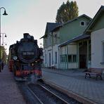 Die Bahnhofsuhr
