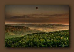 - Die Ballonfahrt 2 im Morgengrauen -