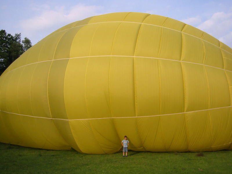 die Ballonfahrt