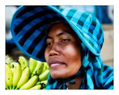 Die Bananenverkäuferin