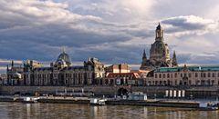 Die barocke Frauenkirche in Dresden