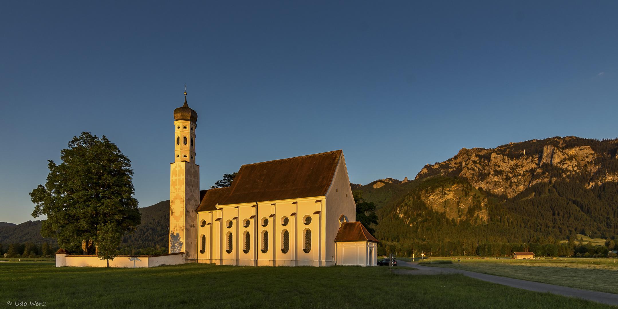 Die barocke Wallfahrtskirche St.Coloman