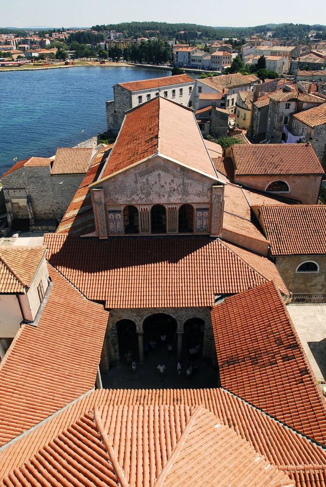 Die Basilika von Porec