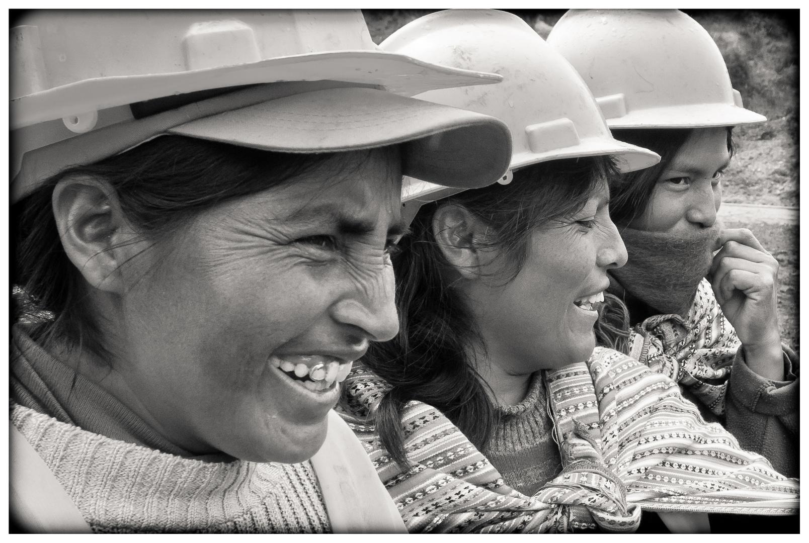 Die Bauarbeiterinnen Von Jauja 5 Foto Bild South America Peru