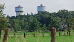 Die beiden Wassertürme der Stadt Hamm in Westfalen