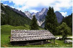 Die Berge von der Bindalm