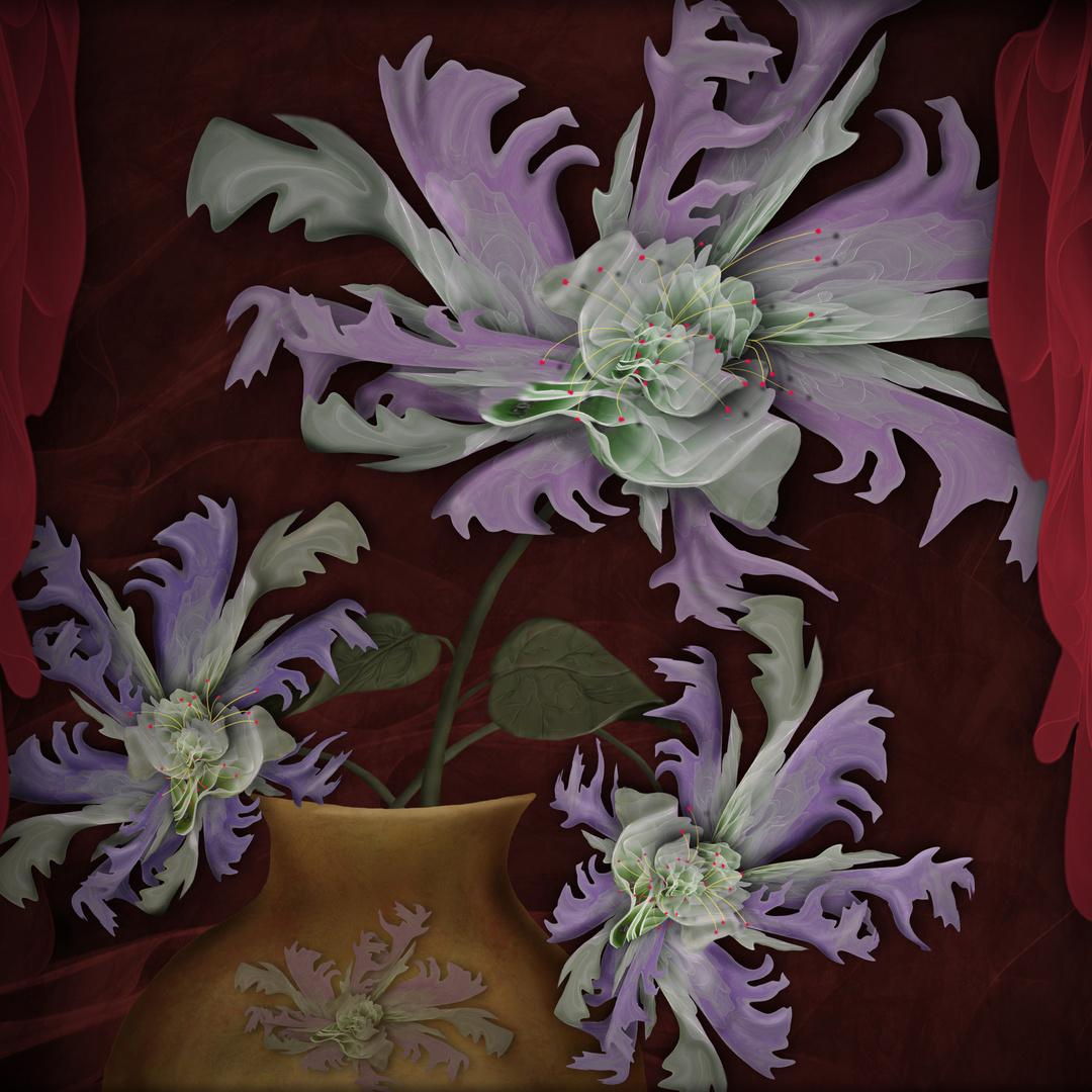 Die berühmte Fc-folienblume.... Digiart Challenge 101