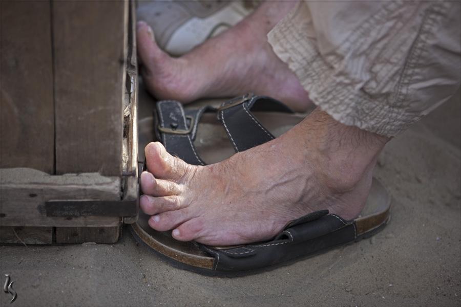 Die berühmtesten Füße der FC....