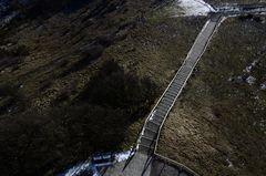Die besondere Treppe auf Hiddensee