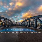 Die blaue Brücke in Freiburg i.B. II
