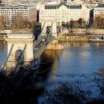 Die blaue Donau bei Budapest