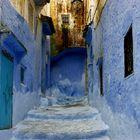 Die blaue heilige Stadt Chefchaouen