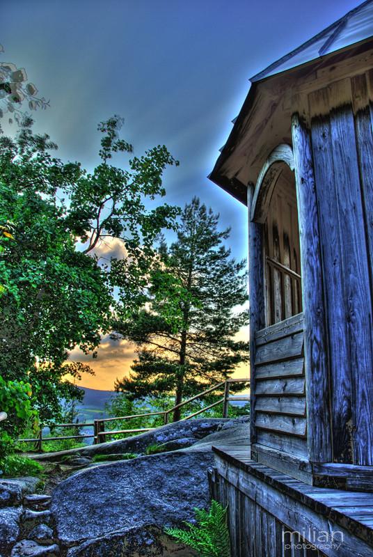 die Blaue Hütte