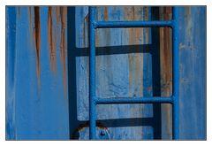 die blaue Leiter