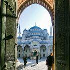 Die Blaue Moschee in Istanbul....