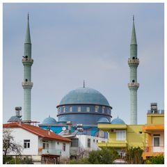 Die blaue Moschee von Evrenseki