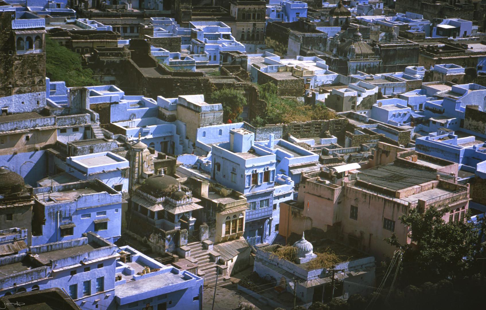 die blaue Stadt