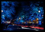 die blaue Straße