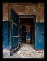 Die blaue Tür...