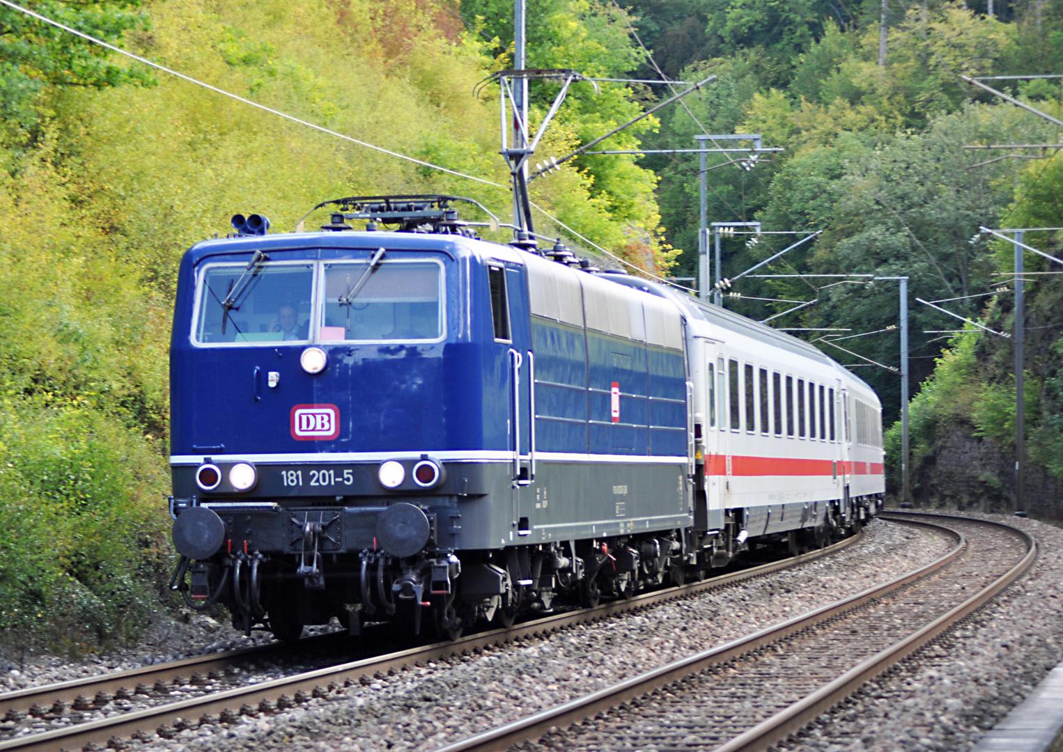 """""""Die Blaue""""DB 181 201-5"""