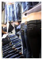 die blauen Jeans