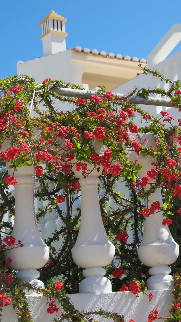 Die Blumendekoration