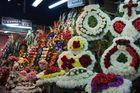 die Blumenverkäuferin, Santiago de Chile