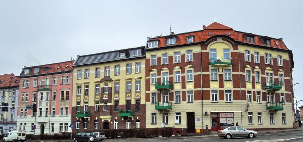 Die Bober Str. Ecke Bolkenhainer Str.
