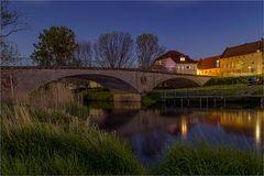 Die Bodebrücke in Nienburg