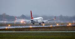 Die Boeing aus Istanbul