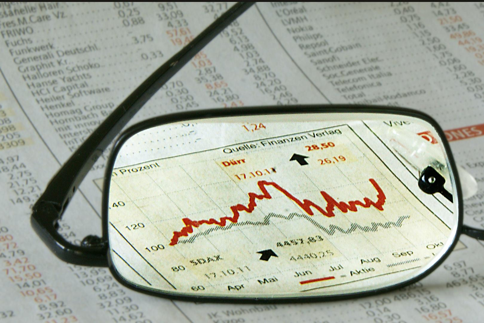 Die Börse im Blick