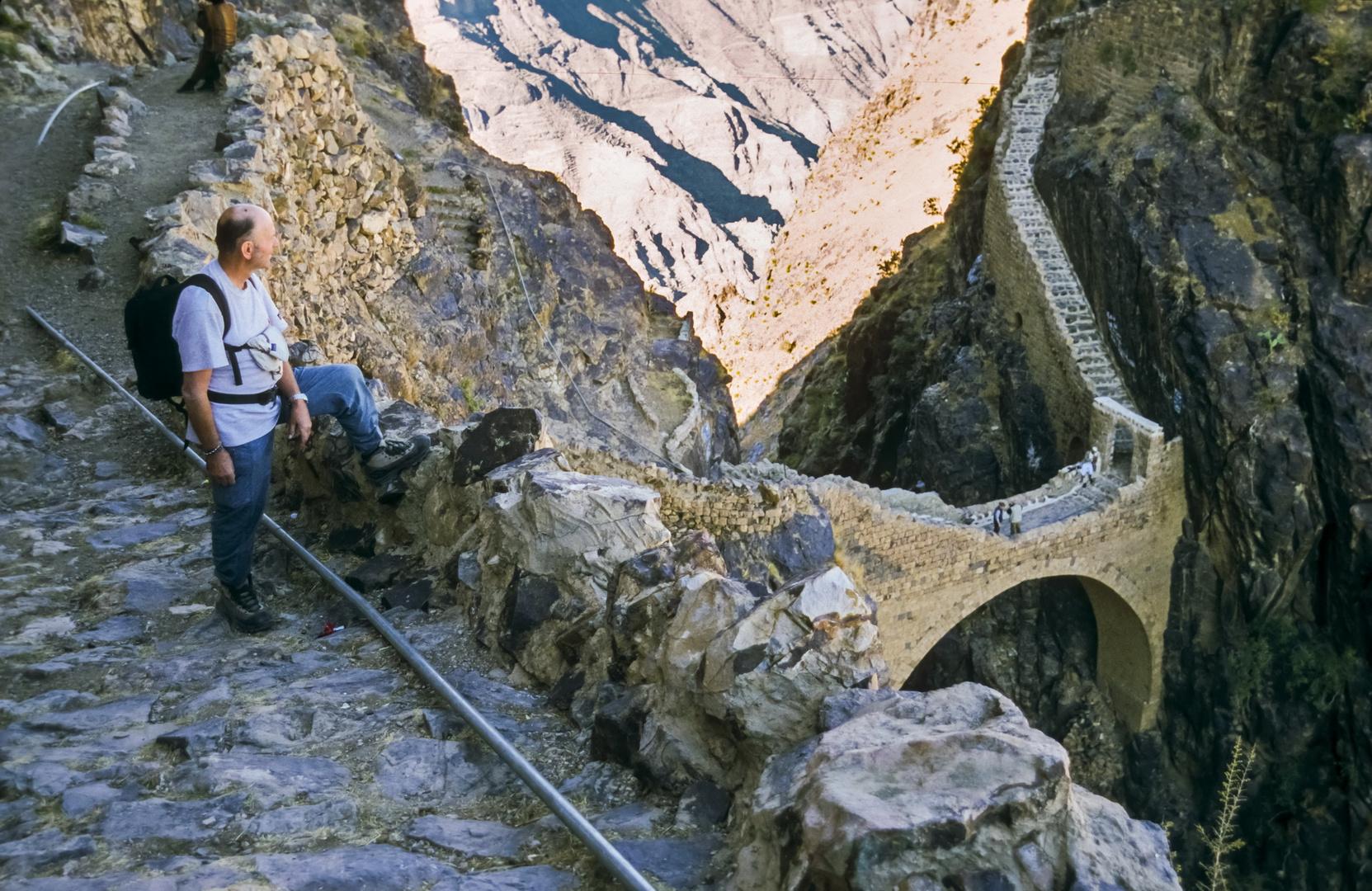 Die Bogenbrücke von Sahara...