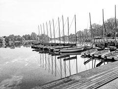 Die Boote am Hafen