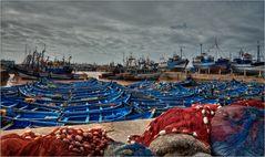 Die Boote von Essaouira...