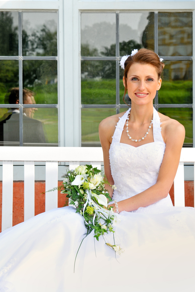 die Braut Hochzeitsfotografie in Memmelsdorf bei Bamberg