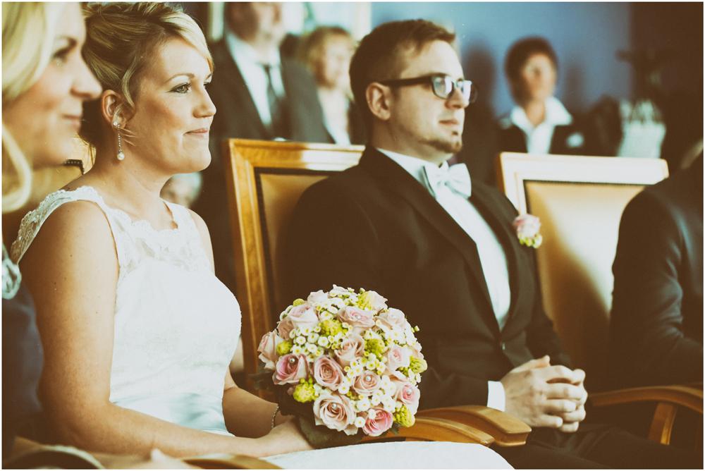 Die Braut im Fokus