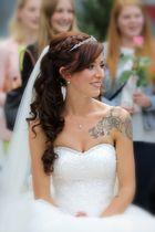Die Braut im Mittelpunkt