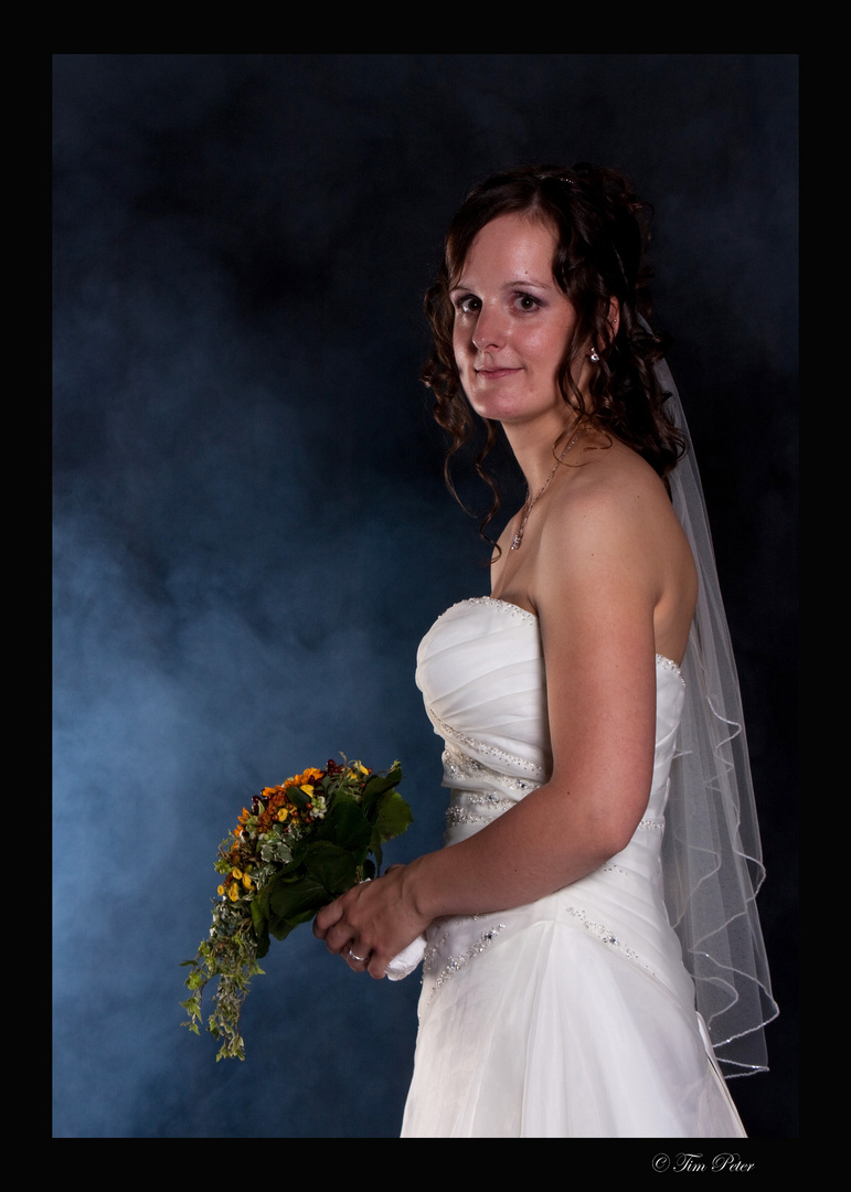 Die Braut im Nebel...