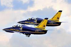 Die Breitling-Staffel in Fairford