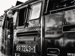 Die Brockenbahn und ihr Zugführer