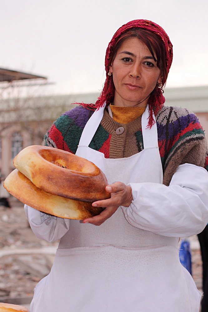 Die Brotverkäuferin