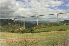 Die Brücke bei Millau