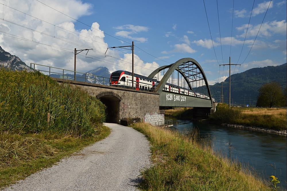 Die Brücke bei Ziegelbrücke