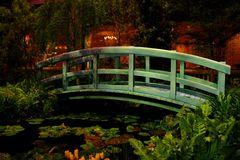 Die Brücke im Garten von Monet